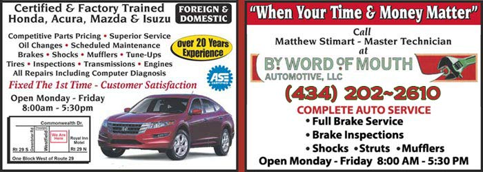 word of mouth automotive